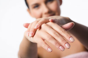 Use CND Hand and Body Lotions for your Nail Enhancements